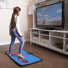 Mando de juegos arcade gigante para jugar con los pies
