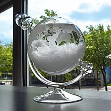 Storm Glass Globo de Cristal Predictor del Tiempo