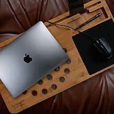 Mesa para Portátil de Bambú