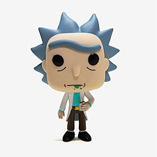 Muñeco de Vinilo POP! Rick de Rick & Morty