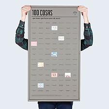 Póster 100 Cosas que Debes Hacer antes de Morir