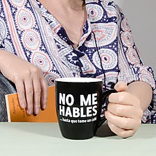 Taza para Cafeinómanos No Me Hables...