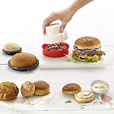 Kit para preparar hamburguesas