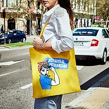 Tote bag Destruye el patriarcado