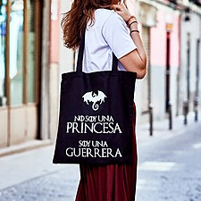 Tote bag No soy una princesa