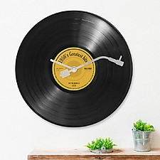 Reloj de Pared Disco de Vinilo Greatest Hits