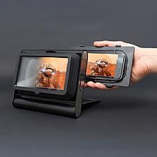 Visor de aumento para ver vídeos en el móvil