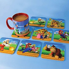 Posavasos Originales 3D Super Mario