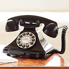 Teléfono retro estilo años 20