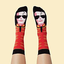 Calcetines Originales Michael Jackson de Chatty Feet
