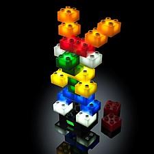 STAX: el juego de construcción luminoso en versión Classic