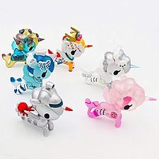 Figuritas de mermicornos en caja sorpresa serie 3