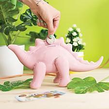 Huchas de cerámica con forma de dinosaurio hinchable
