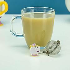 Infusor de té con la forma de Mrs. Potts