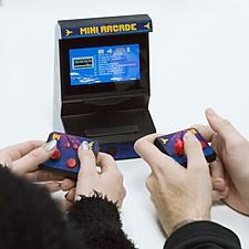 Mini consola de videojuegos arcade para dos jugadores