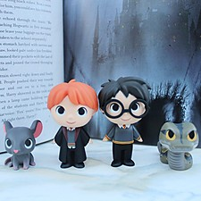 Figuritas de Harry Potter en caja sorpresa