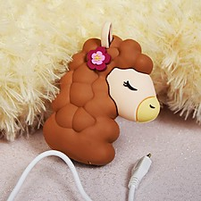Cargador portátil con forma de alpaca