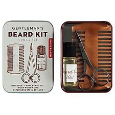 Kit de bolsillo para el cuidado de la barba