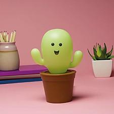 Lámpara LED personalizable con forma de cactus