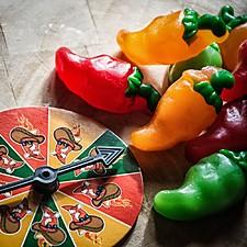 Ruleta rusa de gominolas de chile picante