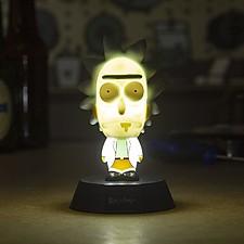 Lámpara con forma de Rick de Rick & Morty