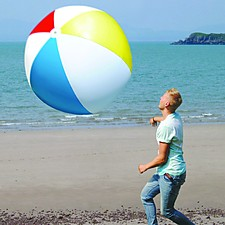 Pelota de playa hinchable en tamaño gigante