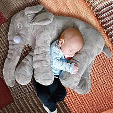 Almohada para bebés con forma de elefante