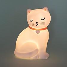 Luz de noche con forma de gatito