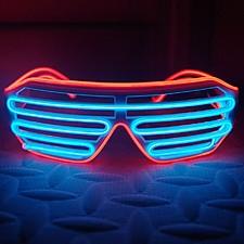 Gafas de neón para fiestas