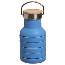 Botella de silicona plegable