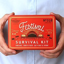Kit de supervivencia para festivales