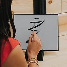 Pizarra para hacer pinturas efímeras