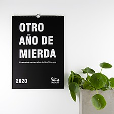 El calendario para 2020 de Miss Miserable