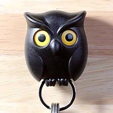 Colgador de llaves con forma de búho