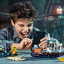 Set de LEGO con realidad aumentada del Camaronero encallado