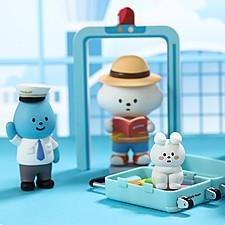 Muñecos coleccionables Mr. White Cloud serie 5 Airline