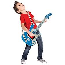 Guitarra virtual de madera para niños