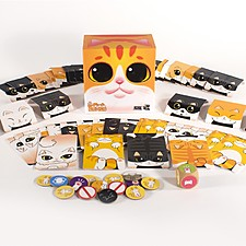 Juego de mesa Torre de gatos