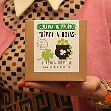 Kit para cultivar tu propio trébol de cuatro hojas