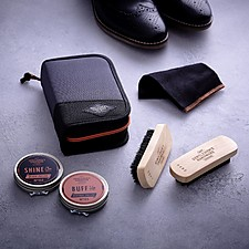 Kit de viaje para limpiar zapatos