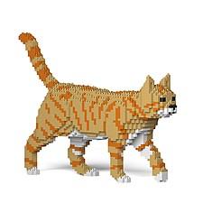 Juego para construir un gato con bloques