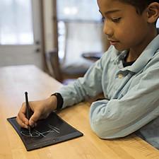Tableta para dibujar y tomar notas grande