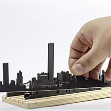 Juego para recrear el skyline de Nueva York
