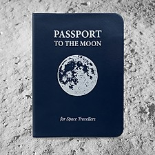 Funda para pasaporte a la Luna