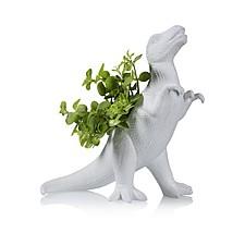 Maceta original con forma de Tyrannosaurus rex