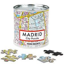 Puzzle magnético del plano de Madrid