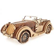 Kit para construir un roadster mecánico de madera