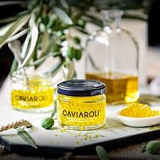 Caviaroli: esferas de aceite de oliva virgen de Albert Adrià