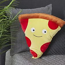 Cojín gigante con forma de pizza pepperoni