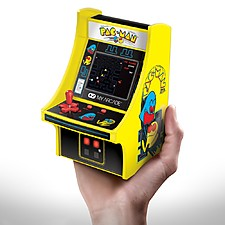 Mini consola arcade Pac-Man con licencia oficial